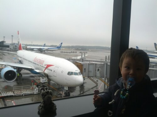 Austrian Air nach Wien